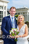 Aislinn Griffin, Artigallivan, Glenflesk daughter of Jerry and Aileen, and Christopher Lynch, Clomclud, Kilnamatra Co Cork son of Patsy and Eileen, who were married in St Agathas (checK) church Glenflesk on Friday Fr George Hayes officiata at the ceremony, best man was Joseph Lynch, groomsmen were Mark Burke and Donnacha Lynch, bridesmaids were the brides sisters Sarah, Rachel and Kara Griffin, flowergirl was Faith Harrington, the reception was held in the Killarney Heights Hotel and the couple will reside in Kilnamatra