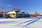 Historic Gouldsboro Rail Station, Pocono Mts, PA