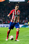 Jorge Resurreccion Merodio, Koke, of Atletico de Madrid in action during the UEFA Europa League 2017-18 Round of 16 (1st leg) match between Atletico de Madrid and FC Lokomotiv Moscow at Wanda Metropolitano  on March 08 2018 in Madrid, Spain. Photo by Diego Souto / Power Sport Images