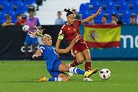 during the match of  European Women's Championship 2017 at Leganes, between Spain and Finland. September 20, 2016. (ALTERPHOTOS/Rodrigo Jimenez) NORTEPHOTO