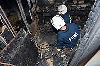 Firefighter investigation officers