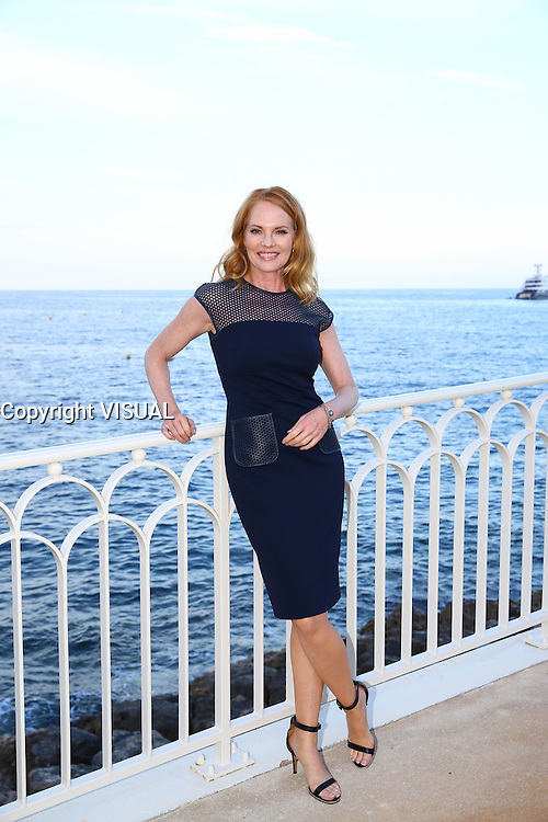 - NO TABLOIDS, NO WEB - 13/06/2016'TV Series' Party at the Monte-Carlo Bay Hotel and Resort during the 56th Monte-Carlo Television Festival. Marg Helgenberger.