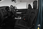 Front seat view of 2017 Chevrolet Colorado ZR2 Crew 4 Door Pick Up front seat car photos