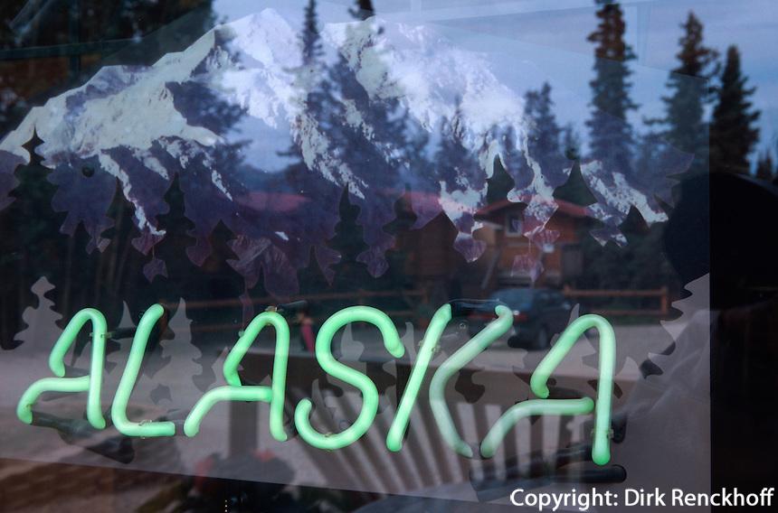 USA, Alaska, Hotel River Cabins im  Denali Nationalpark