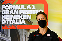 3rd September 2020; Autodromo Nazionale Monza, Monza, Italy ; Formula 1 Grand Prix of Italy, arrival day;  8 Romain Grosjean FRA, Haas F1 Team