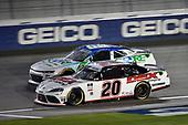 #20: Harrison Burton, Joe Gibbs Racing, Toyota Supra Dex Imaging, #08: Joe Graf Jr, SS Green Light Racing, Chevrolet Camaro CORE Development Group