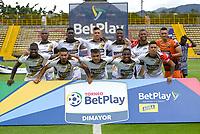 BOGOTÁ- COLOMBIA, 18-10-2021:Tigres  y Llaneros durante partido de la fecha 13 por el Torneo BetPlay DIMAYOR 2021 jugado en el estadio Metropolitano de Techo de Bogotá./ Tigres and Llaneros a match of the 13nd for the BetPlay DIMAYOR 2021 Tournament at Metropolitano de Techo  stadium in Bogota Photo: VizzorImage. / Samuel Norato  / Contribuidor