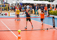 Netherlands, Den Bosch, 18.06.2014. Tennis, Topshelf Open, Kidsday,<br /> Photo:Tennisimages/Henk Koster
