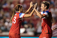 Sandy, Utah - Saturday, September 13, 2014: The USWNT defeated Mexico 8-0 in an International friendly match at Rio Tinto stadium.