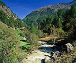 Italy, South-Tyrol, Alto Adige, Vinschgau (Val Venosta), Schnals Valley (Val Senales), Schnalser brooke | Italien, Suedtirol, Vinschgau, Schnalstal, Schnalserbach