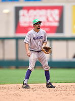 Hernando Leopards shortstop Dylan Duphily during the 42nd Annual FACA All-Star Baseball Classic on June 5, 2021 at Joker Marchant Stadium in Lakeland, Florida.  (Mike Janes/Four Seam Images)