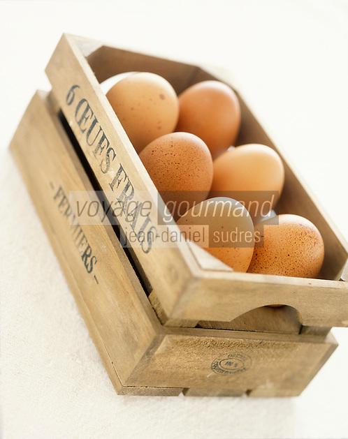 Gastronomie générale / Cuisine générale : Oeuf frais fermiers