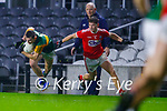 Diarmuid O'Connor, Kerry in action against Kevin O' Donovan, Cork, during the Munster GAA Football Senior Championship Semi-Final match between Cork and Kerry at Páirc Uí Chaoimh in Cork.