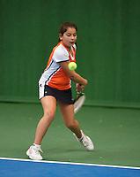 01-12-13,Netherlands, Almere,  National Tennis Center, Tennis, Winter Youth Circuit, Lienka Ammar<br /> Photo: Henk Koster