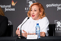 Carmen Machi during press conference of presentation of short film of Gas Natural Fenosa during Sitges Film Festival in Barcelona, Spain October 05, 2017. (ALTERPHOTOS/Borja B.Hojas) /NortePhoto.com /NortePhoto.com