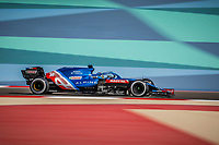 ALONSO Fernando (spa), Alpine F1 A521, action during Formula 1 Gulf Air Bahrain Grand Prix 2021 from March 26 to 28, 2021 on the Bahrain International Circuit, in Sakhir, Bahrain <br /> 26/03/2021 <br /> Formula 1 Gp Bahrein <br /> Photo DPPI/Panoramic/Insidefoto <br /> Italy Only <br /> 26/03/2021 <br /> Formula 1 Gp Bahrein <br /> Photo DPPI/Panoramic/Insidefoto <br /> Italy Only