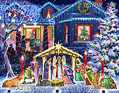Randy, HOLY FAMILIES, HEILIGE FAMILIE, SAGRADA FAMÍLIA, paintings+++++,USRW392,#xr#