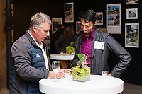SAN FRANCISCO, CA - October 16 - Luther Carpenter and Andres Acosta attend Kilroy Realty / US Olympic Sailing Cocktail Reception 2019 on October 16th 2019 at Kilroy Innovation Center in San Francisco, CA (Photo - Andrew Caulfield for Drew Altizer Photography)