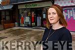 Eileen O'Hanlon, Shop Manager at the Oxfam shop in Tralee is seeking volunteers and donations of money and clothes.