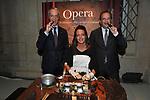 """GAETANO MACCAFERRI ED AURELIO REGINA CON LA SIGARAIA<br /> PRESENTAZIONE SIGARO TOSCANO """"OPERA """" MST A VILLA AURELIA  ROMA 2014"""