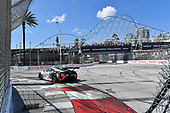 2017 IMSA WeatherTech SportsCar Championship<br /> BUBBA burger Sports Car Grand Prix at Long Beach<br /> Streets of Long Beach, CA USA<br /> Saturday 8 April 2017<br /> 93, Acura, Acura NSX, GTD, Andy Lally, Katherine Legge<br /> World Copyright: Richard Dole/LAT Images<br /> ref: Digital Image RD_LB17_326