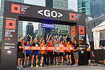 Start of the race at the Bloomberg Square Mile Relay near the Huangpu River in Shanghai, China. Photo by Lucas Schifres / Power Sport Images