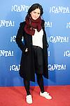 "Estibaliz Gabilondo attends to the premiere of the film ""¡Canta!"" at Cines Capitol in Madrid, Spain. December 18, 2016. (ALTERPHOTOS/BorjaB.Hojas)"