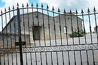 gate chateau cadet piola saint emilion bordeaux france