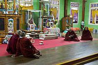 Myanmar, Burma, Inle Lake Monks