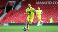 Halil Dervisglu of Brentford in action during Manchester United vs Brentford, Friendly Match Football at Old Trafford on 28th July 2021