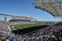 Chester, Pa. - April 10, 2016: The U.S. Women's National team defeat Colombia 3-0 in an international friendly match at Talen Energy Stadium.