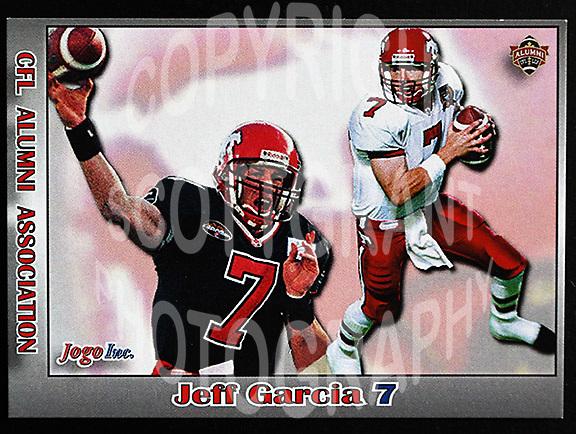 Jeff Garcia-JOGO Alumni cards-photo: Scott Grant