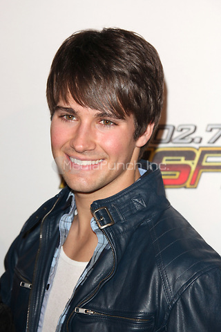 James Maslow of Big Time Rush at 102.7 KIIS FM's Jingle Ball at the Nokia Theatre L.A. Live on December 3, 2011 in Los Angeles, California. © mpi21 / MediaPunch Inc.