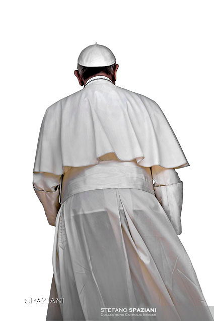 Pope Francis  during of a weekly general audience at St Peter's square in Vatican. on June 15, 2016