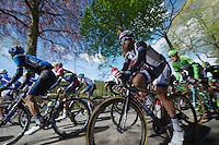 Simon Geschke (DEU/Giant-Shimano) in the bunch<br /> <br /> Liège-Bastogne-Liège 2014