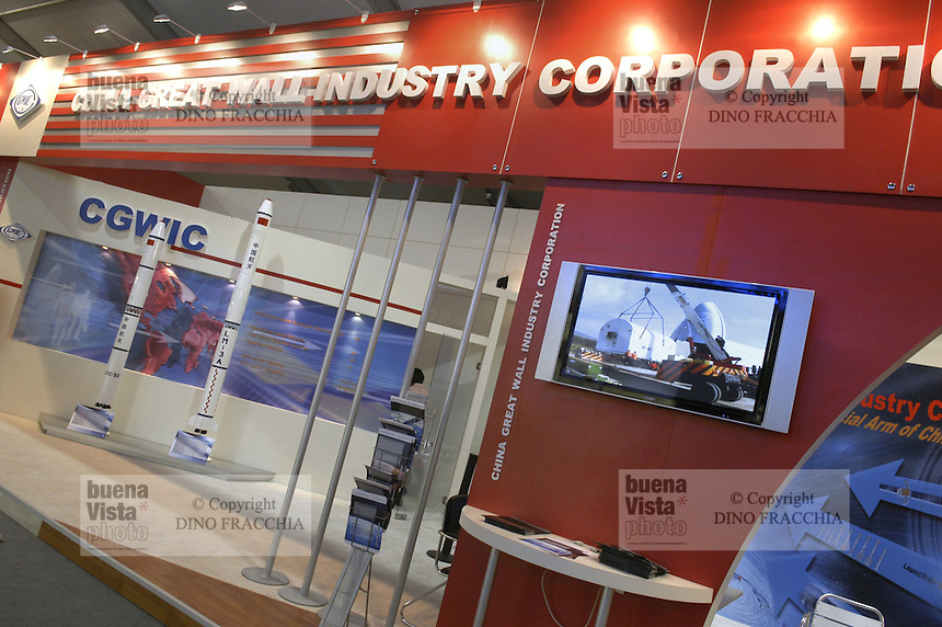- stand Chinese aerospace industry....- stand industria aerospaziale cinese