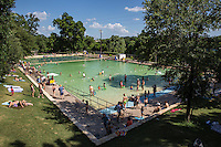 Deep Eddy Pool is a family friendly, family fun, public swimming pool for the entire family in Austin, Texas.