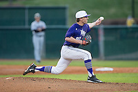 High Point Panthers starting pitcher Will Resnik (22) delivers a pitch to the plate against the Davidson Wildcats at Willard Stadium on March 24, 2015 in High Point, North Carolina.  The Panthers defeated the Wildcats 15-2.  (Brian Westerholt/Four Seam Images)