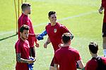 Atletico de Madrid's Fernando Torres during training session. April 11,2017.(ALTERPHOTOS/Acero)