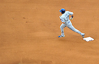 24 April 2010: Los Angeles Dodgers' infielder Casey Blake rounds the bases after hitting a home run against the Washington Nationals at Nationals Park in Washington, DC. The Dodgers edged out the Nationals 4-3. Mandatory Credit: Ed Wolfstein Photo