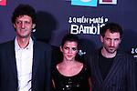 Premiere in Barcelona: ¿Quien mato a Bambi?<br /> Enrico Vecchi, Clara Lago & Julian Villagran.