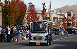 The Visit Carson City Willys drives in the Nevada Day parade in downtown in Carson City, Nev., on Saturday, Oct. 27, 2018. <br /> Photo by Cathleen Allison/Nevada Momentum