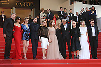 LAMBERT WILSON, JULIETTE BINOCHE, CELINE SALLETTE, PIERRE DELADONCHAMPS, CATHERINE DENEUVE, ISABELLE HUPPERT, SANDRINE KIBERLAIN, ANDRE TECHINE, EMMANUELLE BEART, ELODIE BOUCHEZ AND GREGOIRE LEPRINCE-RINGUET - RED CARPET OF THE FILM 'THE KILLING OF A SACRED DEER' AT THE 70TH FESTIVAL OF CANNES 2017 . CANNES, FRANCE, 22/05/2017. # 70EME FESTIVAL DE CANNES - RED CARPET 'MISE A MORT DU CERF SACRE'