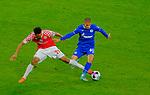 Fussball-Bundesliga - Saison 2020/2021<br /> Opel-Arena Mainz - 7.11.2020<br /> 1. FSV Mainz 05 (mz) - Schalke 04 (s04) 2:2<br /> Karim ONISIWO (1. FSV Mainz 05)   , li -  Can BOZDOGAN (s04)<br /> <br /> Foto © PIX-Sportfotos *** Foto ist honorarpflichtig! *** Auf Anfrage in hoeherer Qualitaet/Aufloesung. Belegexemplar erbeten. Veroeffentlichung ausschliesslich fuer journalistisch-publizistische Zwecke. For editorial use only. DFL regulations prohibit any use of photographs as image sequences and/or quasi-video.