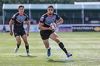 Api Pewhairangi of London Broncos in possession during the Kingstone Press Championship match between London Broncos and Sheffield Eagles at Castle Bar , West Ealing , England  on 9 July 2017. Photo by David Horn.