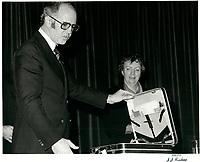 Warren Allmand<br />  le 30 novembre 1978<br /> <br /> PHOTO : JJ Raudsepp  - Agence Quebec presse