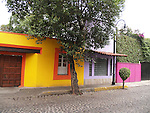Coyoacan, a suburb of Mexico City