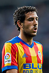 Daniel Parejo Munoz of Valencia CF reacts during their La Liga 2017-18 match between Real Madrid and Valencia CF at the Estadio Santiago Bernabeu on 27 August 2017 in Madrid, Spain. Photo by Diego Gonzalez / Power Sport Images