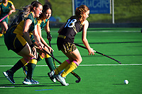 Action from the Wellington premier one women's hockey match between Dalefield and Victoria University at National Hockey Stadium in Wellington, New Zealand on Saturday, 15 May 2021. Photo: Dave Lintott / lintottphoto.co.nz