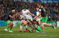 Saturday 7th December 2019   Ulster Rugby vs Harlequins<br /> <br /> Marty Moore during the Heineken Champions Cup Round 3 clash in Pool 3, between Ulster Rugby and Harlequins at Kingspan Stadium, Ravenhill Park, Belfast, Northern Ireland. Photo by John Dickson / DICKSONDIGITAL